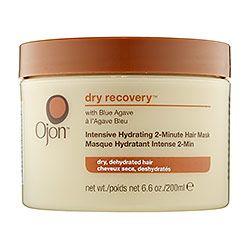 Auxilio para el pelo dañado por el sol: Mascarilla Ojon Dry Recovery: Intensive Hydriting 2-Minutes Mask
