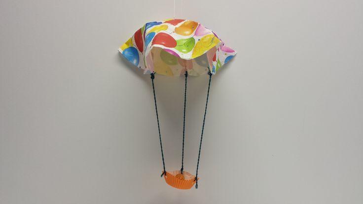 Otson kuumailmapallo. askartelu | kädentaidot | paperi | lasten | lapset | helppo | askarrellaan | kids | children | easy | crafts | Pikku Kakkonen