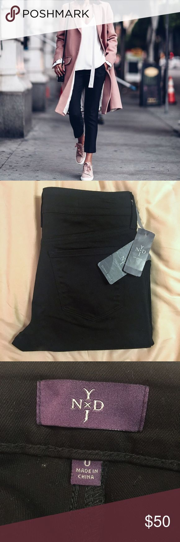 Black Skinny Ankle Jeans NWT NYDJ black skinny ankle jeans. Perfect condition & a staple piece. 🖤 NYDJ Jeans Ankle & Cropped
