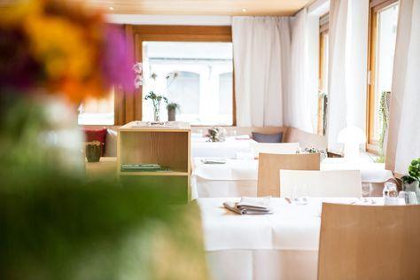 Restaurant im Biohotel Schwanen