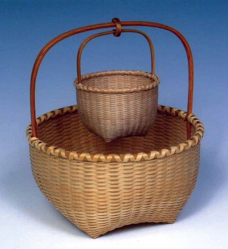 Basket Weaving Peterborough : Best antique vintage baskets images on
