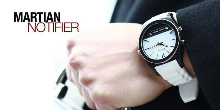This classic looking watch can keep you updated with all smartphone notifications in real-time!  #martian #smartwatch #notifier #Smartwatches