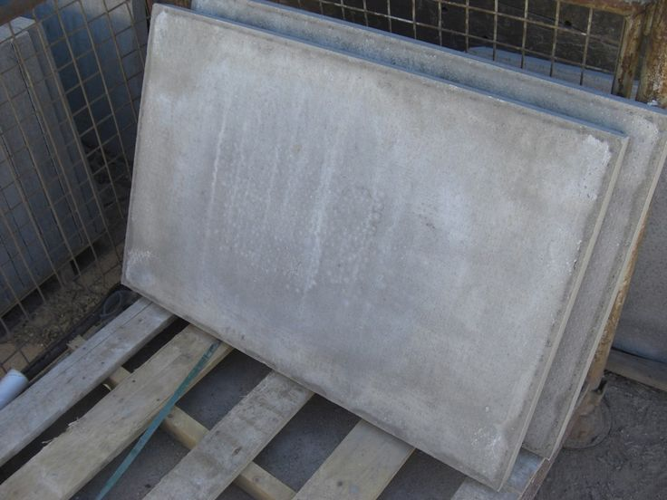 Pressed Concrete Paving Slabs, Grey. Thick Slabs At LSD.co.uk