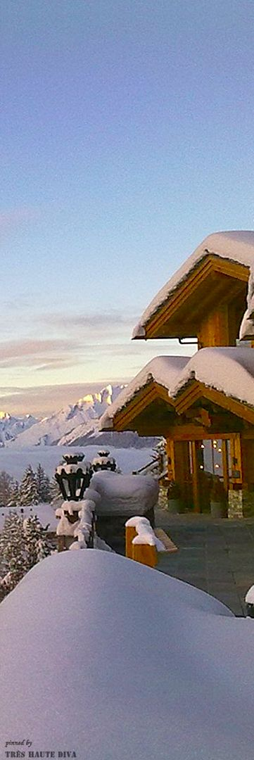 Luxury Chalet in Montana Crans, Switzerland ❆ Ski Party at the Chalet ❆