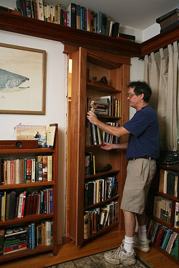 Gary Katz Online, he does a great job showing how to build bookcase door.