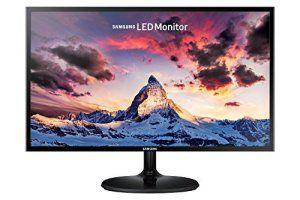 Samsung S22F350FH Ecran PC LED 22″ (54.6cm) (Full HD 1920×1080, 5ms, 16:9, VGA/HDMI) Noir