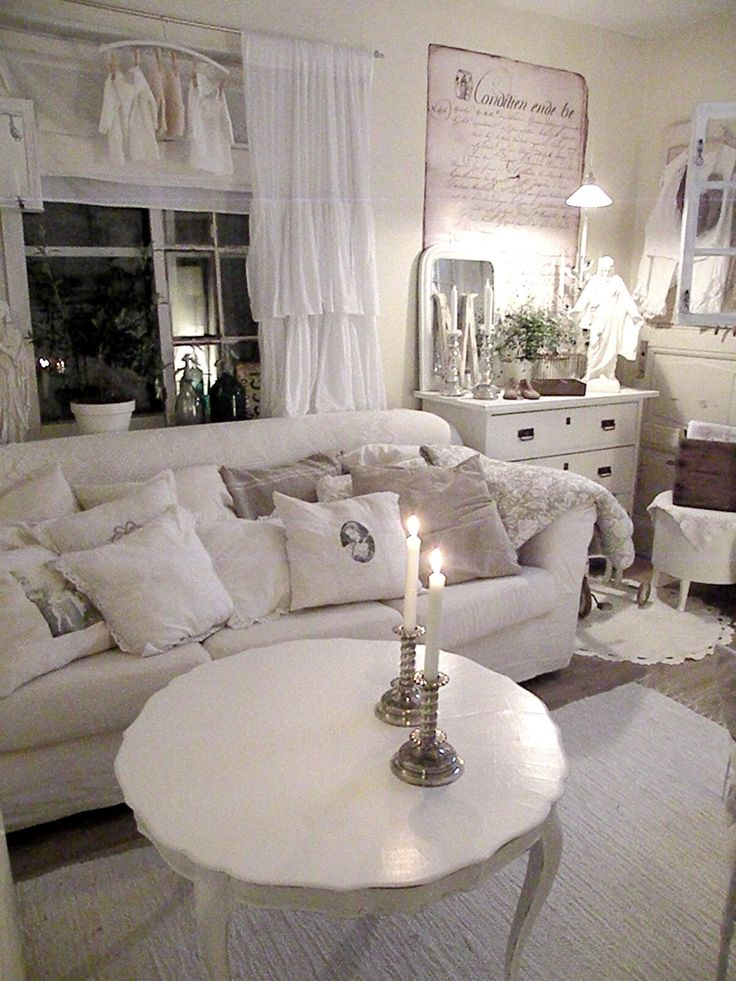 2185 best images about shabby chic french cottage on - Soggiorno shabby chic ...