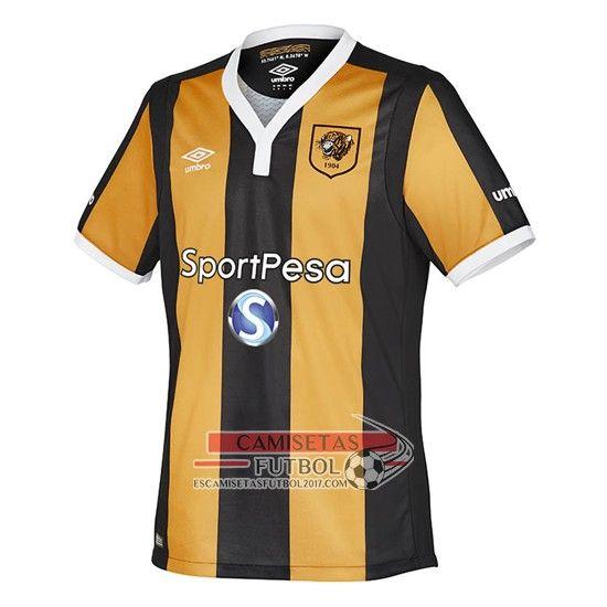 Comprar Replicas  Hull City Primera 2016-2017 - escamisetasfutbol2017.com