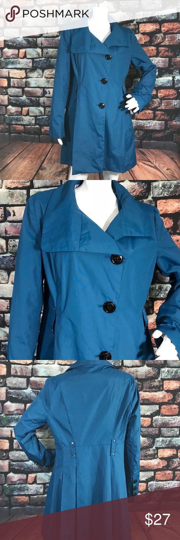 """Steve Madden Women's Trench Rain Coat Lightweight Trench Rain Coat   Armpit to Armpit: 19"""" Sleeve: 25"""" Waist: 35"""" Length: 33.5""""  pH70 Steve Madden Jackets & Coats Trench Coats"""