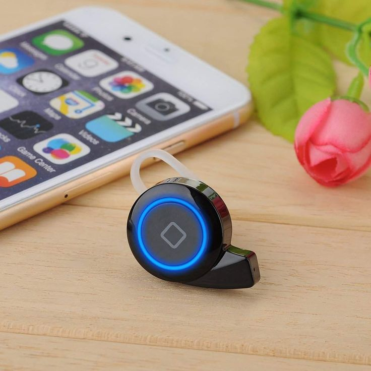 VicTsing is one of the smallest Bluetooth headsets that has noise-cancelling features, supports music playback along with multipoint connections.