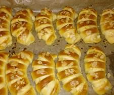 Rezept Apfel Puddinghörnchen von Minimoni - Rezept der Kategorie Backen süß