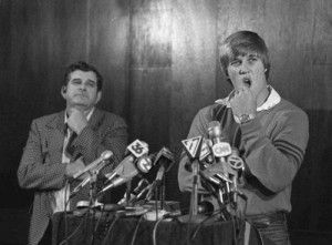 Denver Broncos quarterback John Elway wasn't originally drafted by the Broncos in the 1983 NFL draft. He was taken by the Baltimore Colts. But Elway vowed he would never play for the Colts and was eventually traded to Denver. One of the best moves in  league history.