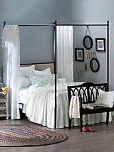 Newport Drop Ruffle Bedspread, Shams & Pillows | LinenSource