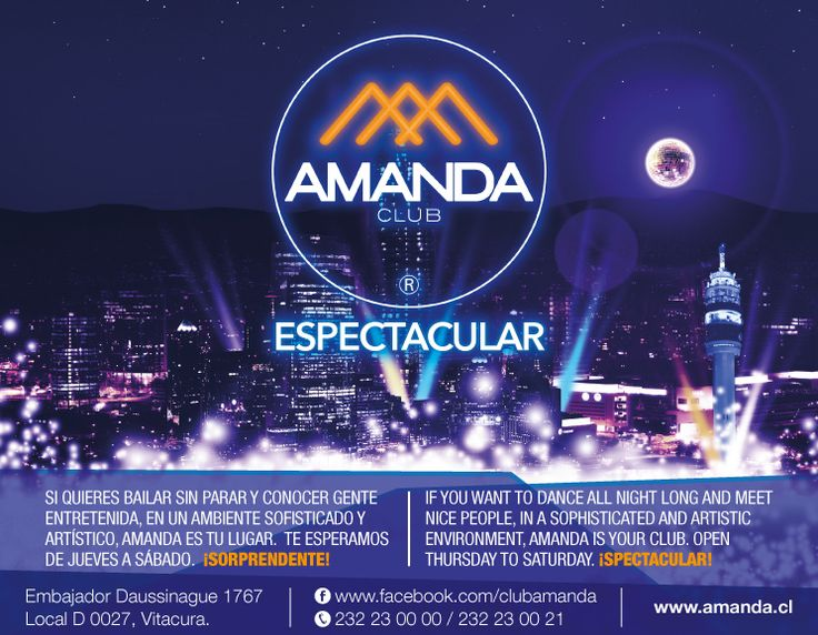 Publicidad Club Amanda
