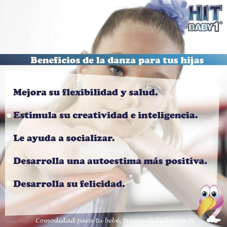 Beneficios de la danza para tu hija.   #Crecimiento #Danza #baile #niñas #ballet #desarrollo