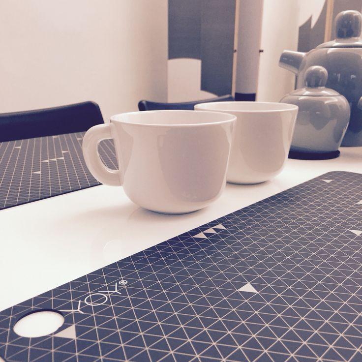 @muuto @oyoyliving Bulky Teaset and OYOY Silicone Placemats (www.uittnoorden.nl)