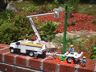 bucket truck toys gonna be a must when we had kids !