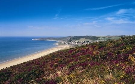 Woolacombe Bay, Devon – Popular with campers and it's easy to see why!