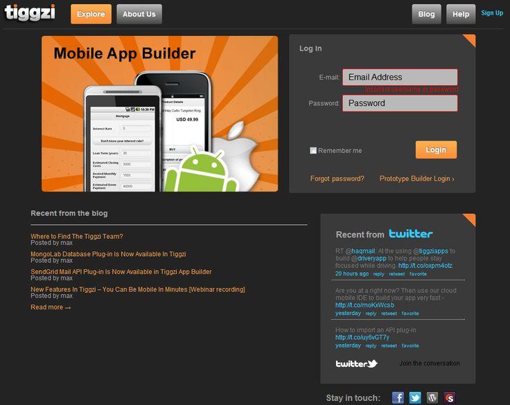 List of Mobile App Creators to Build Apps WYSIWYG