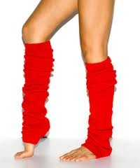 Leg Warmers for women in the 80's were an accessory that could be worn for many different occasions.