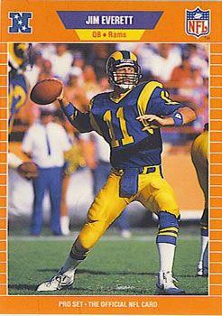 #25 Jim Everett Passing Leader (all-time): Jim Everett - 23,758 yards   rc | 200
