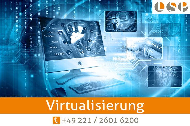 Server Virtualisierung durch Ihren IT Dienstleister aus Köln.