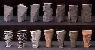 Afbeeldingsresultaat voor massing studies architecture