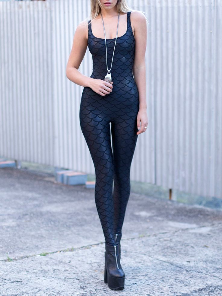 Merman Catsuit – LIMITED (WW $120AUD / US $96USD) by Black Milk Clothing