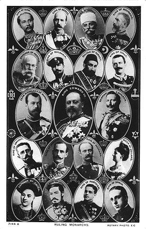 REGNANTI 1908