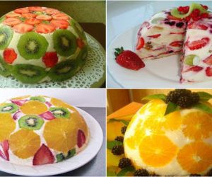 Фруктовый торт без выпечки — это наслаждение вкусом!