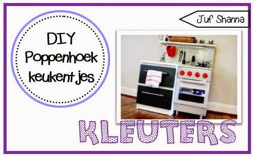 Juf Shanna: DIY een poppenhoek keukentje