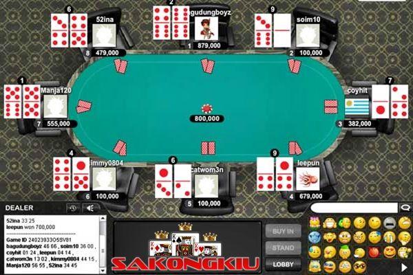 Trik Kartu Domino Tradisional AduQ Online