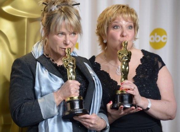 Oscar 2013: BEST MAKEUP:  Les Misrables Lisa Westcott and Julie Dartnell