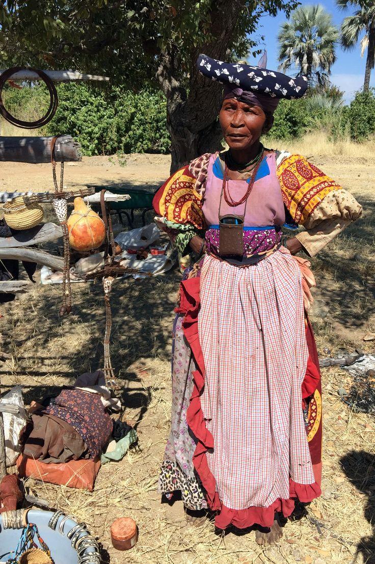Herero lady, Namibia