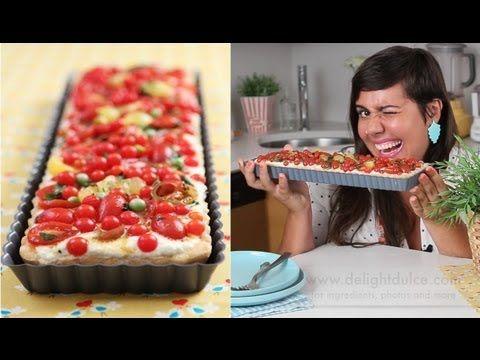 Aprenda passo a passo a fazer uma deliciosa torta de tomates com ricota e massa crocante. Aprenda todos os truques dos cozinheiros profissionais…