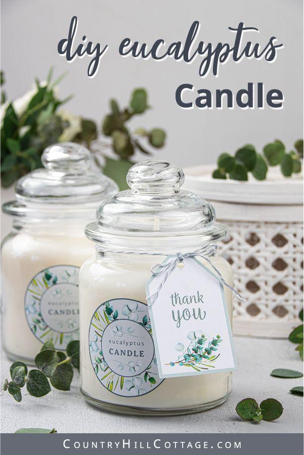 Eucalyptus Candle Diy Aromatherapy Candles Tutorial Diy Aromatherapy Candles Eucalyptus Candle Diy Aromatherapy