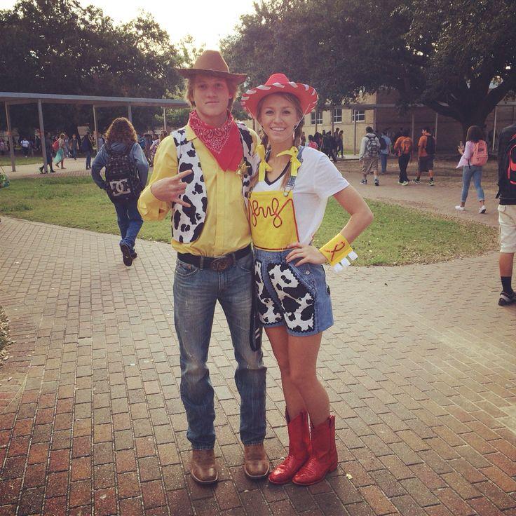 Diy, Jessie and Woody costumes, Homecoming week