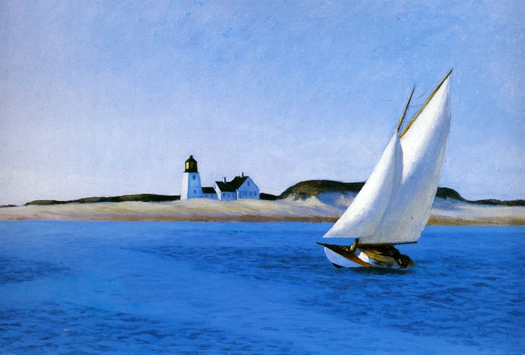 This is another quite amazing work by Edward Hopper.