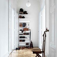 String Komplet Garderobe Opstilling Hvid - Indretning til din Entré