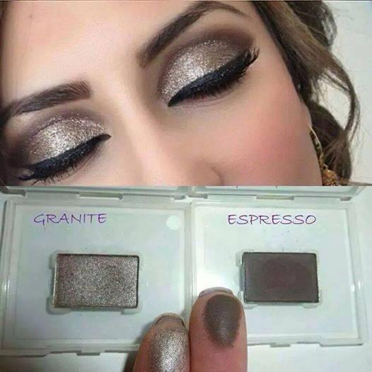 Maquiagem TOP com as Sombras Minerais Mary Kay: Espresso e Granite