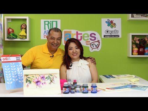 Artes na TV - 02/07/16 - T3/E21 - MAYUMI TAKUSHI - STENCIL OPA /  MAGDA ...