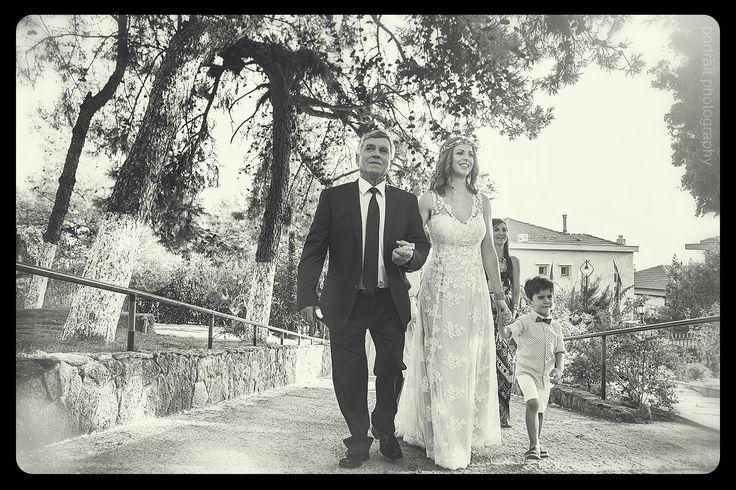 Wedding day #wedding #weddingday #bride #happiness #father #church #weddingdress