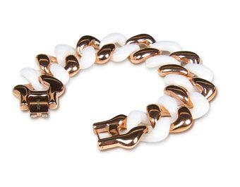 Flying Saucers Pastiche Linked Bracelet $260