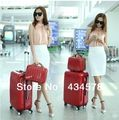 Venta al por mayor! 2014 nueva marca de alta calidad 12 22 24 pulgadas del equipaje del vintage set, viaje de piel de cocodrilo con ruedas para hombres / mujeres en Sets de Equipaje de Bolsos y Maletas en AliExpress.com | Alibaba Group