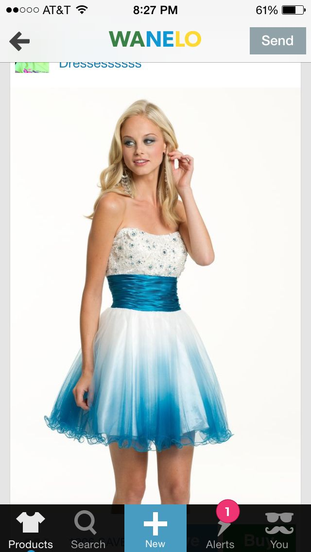 Cute but looks to much like 8 th grade formal