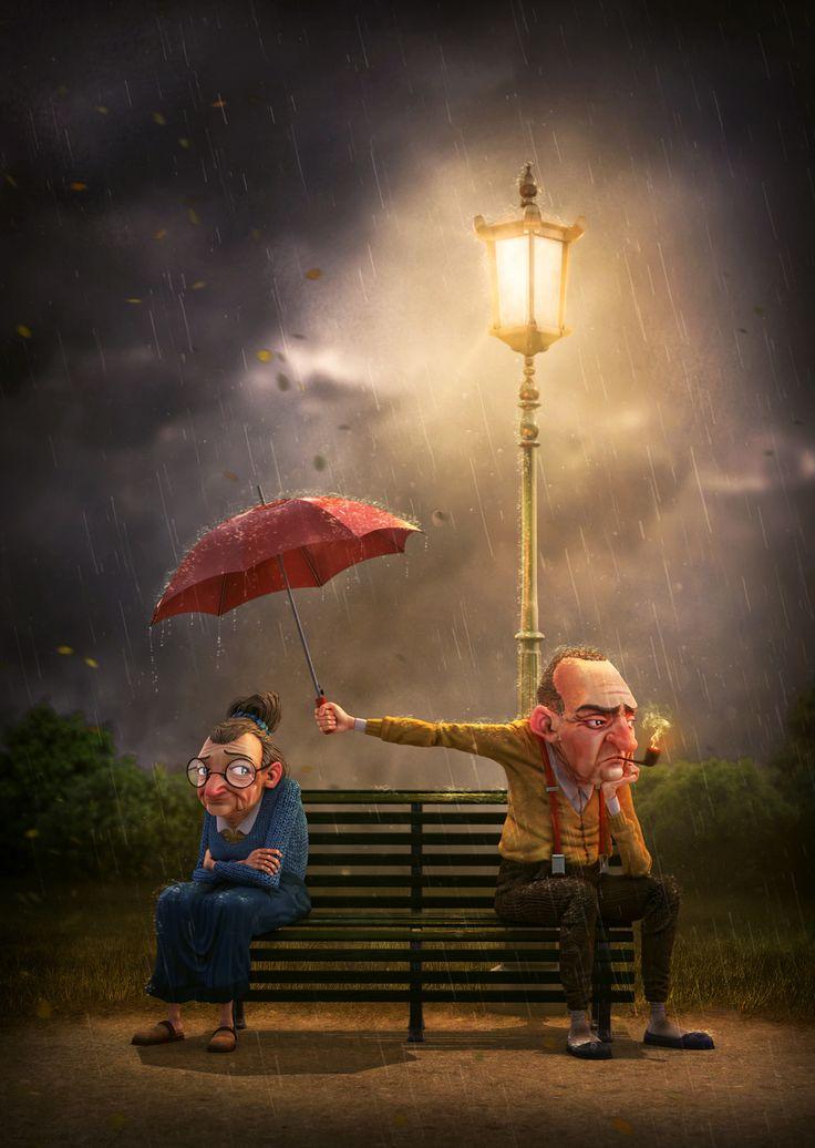 Rain or Shine by Aiman Akhtar | Cartoon | 3D | CGSociety