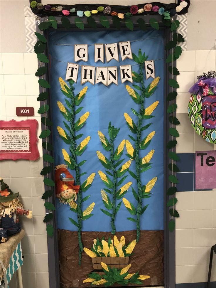 Best 25+ Thanksgiving classroom door ideas on Pinterest