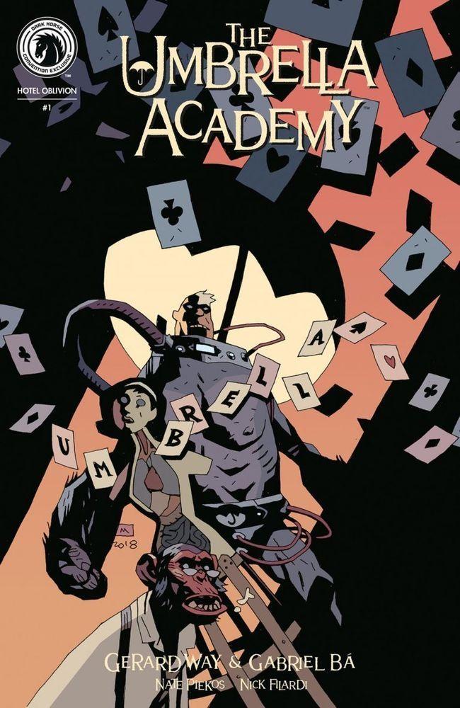 Umbrella Academy: Hotel Oblivion #1 NYCC Exclusive Mike Mignola Variant Cover