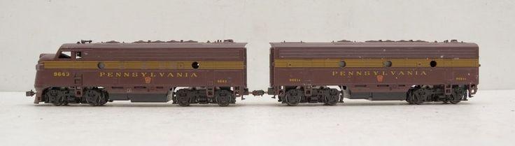 Athearn Pennsylvania Railroad F7A F7B Diesel Locomotive Both Powered HO Scale #Athearn at #RuthHannas