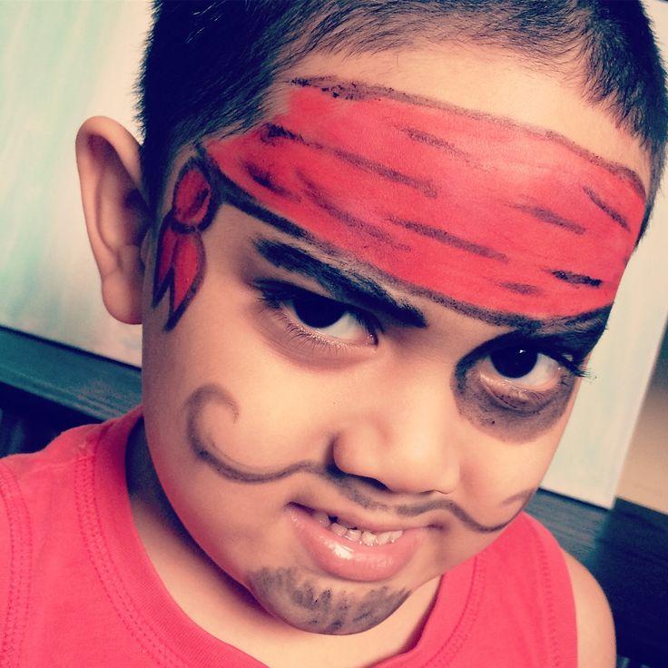 pirate facepaint